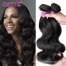 Natural Color Unprocessed Body Wave Peruvian Virgin Hair